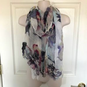 UO Kimchi Blue Floral Scarf